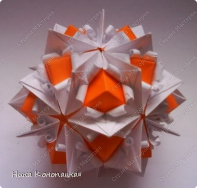 Name: Stone Flower  Designer: Tatiyana Vysochina Parts: 30+20 Paper: 6.5*6.5 cm Joint: glue фото 3