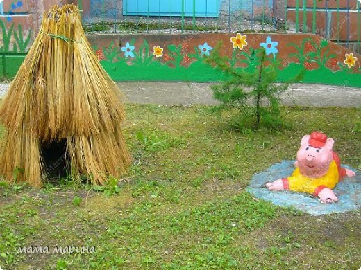 Работаю вот в этом детском саду . Сюда же и пойдёт моя дочка Машенька но это будет осенью, а пока пришли на экскурсию.  фото 7