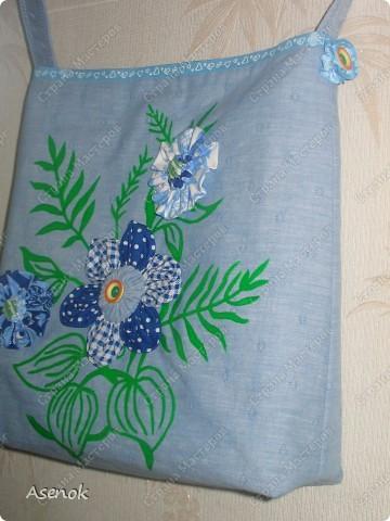 Заказали еще одну сумочку, родилась вот такая летняя красота :) фото 3