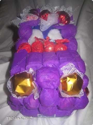 моя первая машина,все конфетки на шпажках фото 3
