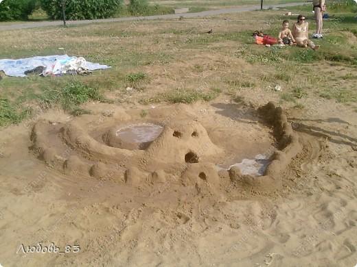 Замок из песка.