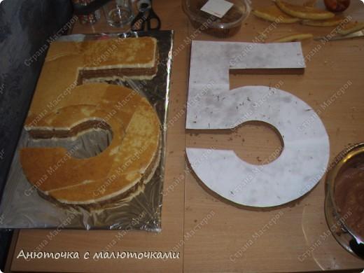 Здравствуйте, уважаемые гости :) Моим двойняшкам исполнилось 5 лет :) И решила я забабахать какой-нибудь необычный тортик :) И пренепременно с мастикой :) Вот что получилось: фото 3