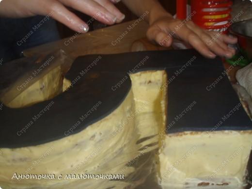 Здравствуйте, уважаемые гости :) Моим двойняшкам исполнилось 5 лет :) И решила я забабахать какой-нибудь необычный тортик :) И пренепременно с мастикой :) Вот что получилось: фото 9