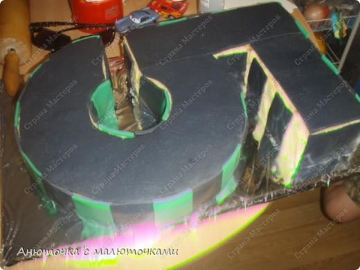 Здравствуйте, уважаемые гости :) Моим двойняшкам исполнилось 5 лет :) И решила я забабахать какой-нибудь необычный тортик :) И пренепременно с мастикой :) Вот что получилось: фото 10