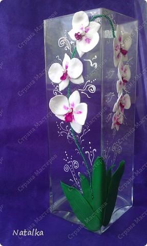 """Вот такая вот ваза для дня рождения у меня """"родилась"""". фото 1"""