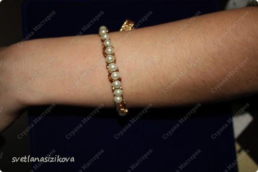 Вот такое украшение на шею и руку можно сделать в дополнение к русскому национальному костюму. фото 3