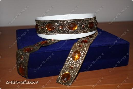 Вот такое украшение на шею и руку можно сделать в дополнение к русскому национальному костюму. фото 5