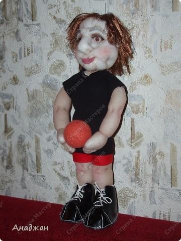 Елена, занимается волейболом, ее номер 9. Рост 33 см. Кроссовочки съемные. фото 8