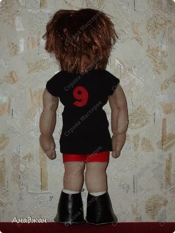 Елена, занимается волейболом, ее номер 9. Рост 33 см. Кроссовочки съемные. фото 9