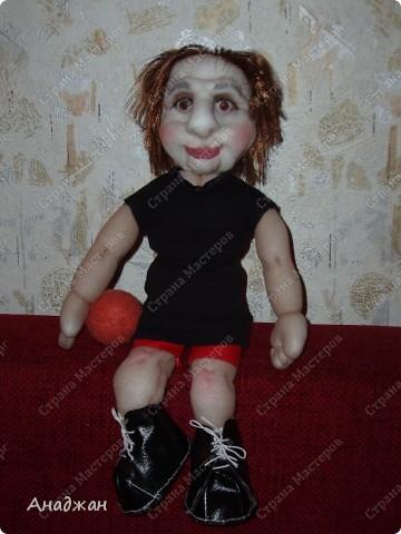 Елена, занимается волейболом, ее номер 9. Рост 33 см. Кроссовочки съемные. фото 12