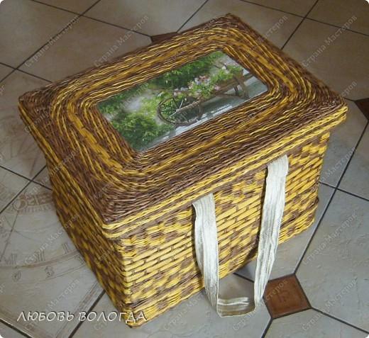 Вот такая крышечка или крышища? получилась для моего коробочка http://stranamasterov.ru/node/203225 . фото 3