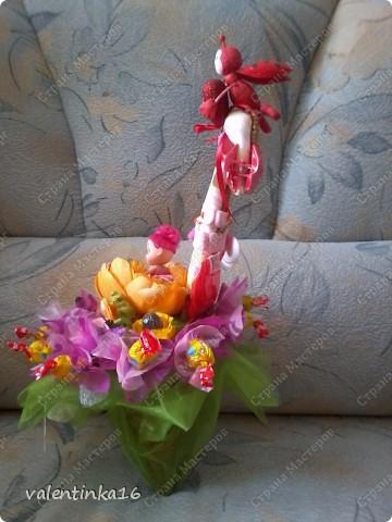 вот такой подарочек собрали мы с мамой для племяшки  фото 2