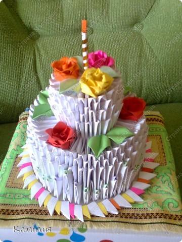 Наш тортик фото 1