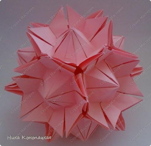Name: Amaryllis  Designer: Miyuki Kawamura  Parts: 30  Paper: 8*8 cm  Joint: glue фото 1
