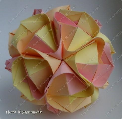 Name: Clover  Designer: Mariya Sinayskaya  Parts: 30  Paper: 8*8 cm  Joint: no glue фото 2