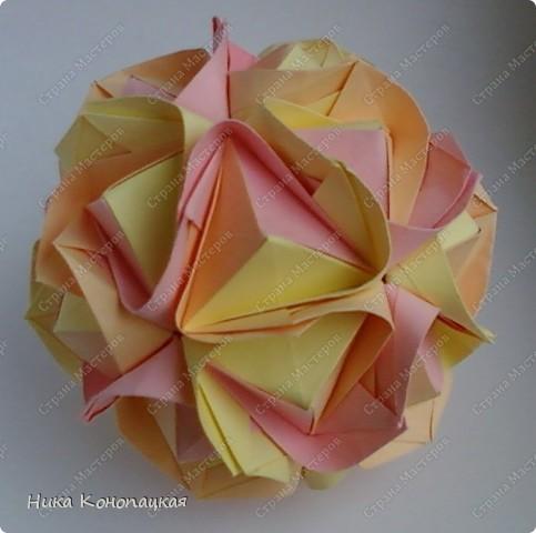 Name: Clover  Designer: Mariya Sinayskaya  Parts: 30  Paper: 8*8 cm  Joint: no glue фото 1