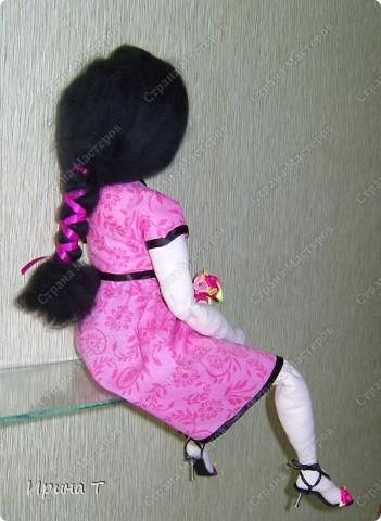 Шарнирная текстильная кукла! фото 8