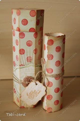 Получая приглашение на День Рождения, начинает болеть голова о том, что подарить и как поздравить. В виду того, что подарок был заказан именинницей, то первый вопрос отпал сам собой. А вот второй встал с новой силой, ибо подаром была тушь, а размеры у неё уж никак не внушительные! Было решено сделать упаковку. фото 1