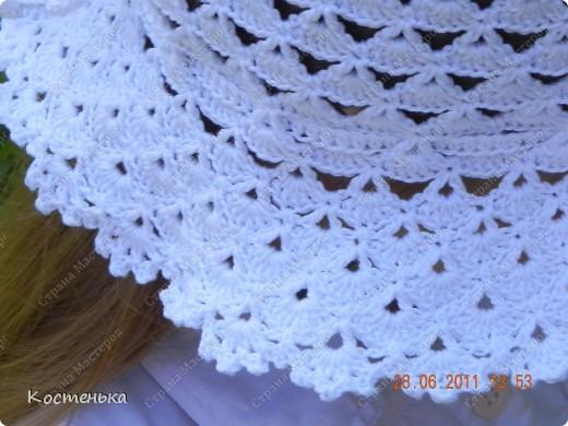 Шляпка беленькая фото 3