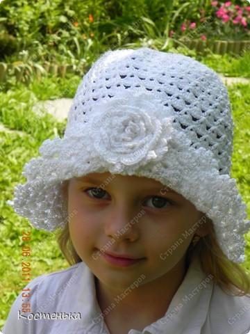 Шляпка беленькая фото 1