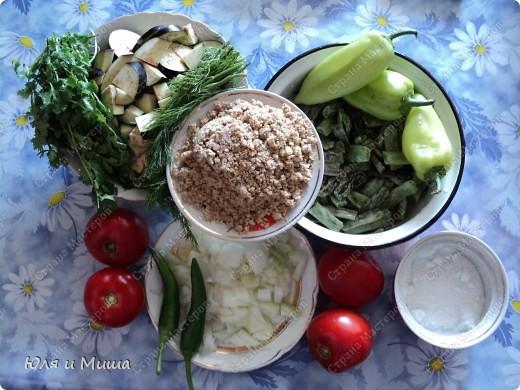 """С рецептом классических аджапсандалей мы Вас уже знакомили http://stranamasterov.ru/node/187712. Нигвзис - по-грузински """"почищенные грецкие орехи"""". Но отличается блюдо не только их добавлением!   фото 2"""