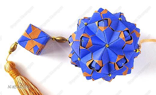 """Добрый день! На просторах интернета нашла замечательную книгу Kunihiko Kasahara  """"Origami 2 Geometrikus"""".  И имею честь представить вам три работы из вышеуказанной книги. http://narod.ru/disk/23107735000/Kunihiko%20Kasahara%20-%20Origami%202%20Geometrikus.pdf.html фото 3"""
