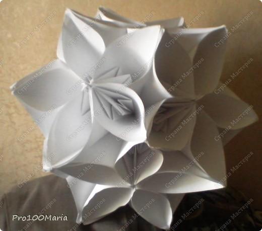 Оригами Кусудама Сакура