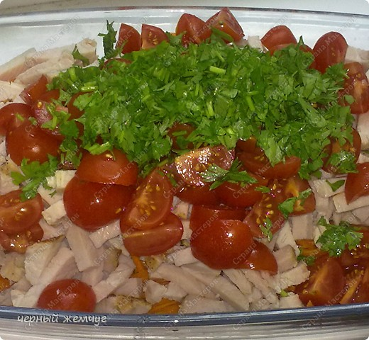 Салат из корейской морковки + десерт фото 7