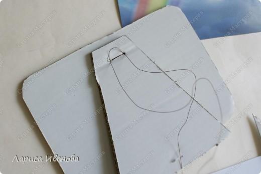 Дорогие рукодельницы!))) Предлагаю Вам вместе со мной сделать вот такую рамочку из теста. Это отличный подарок для влюбленных и молодожен))) фото 32