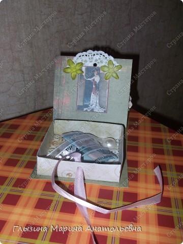 Представляю  вашему вниманию очаровательную коробочку-оригами Увидела у Юлечки (YuliaMart) очень понравилась. Она дала ссылочку с МК и я  решила попробовать. Спасибо Юля. Вот что у меня получилось фото 2