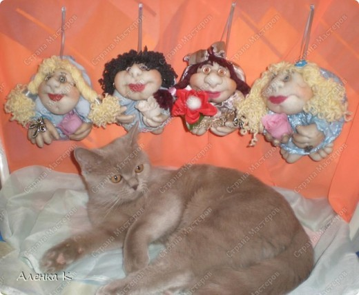 Как я люблю шить своих девочек - припевочек! При шитье таких куколок не устаю благодарить человека, по мастер-классу которого их создаю. фото 6