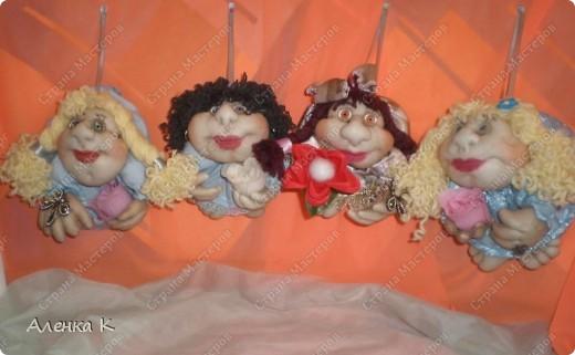 Как я люблю шить своих девочек - припевочек! При шитье таких куколок не устаю благодарить человека, по мастер-классу которого их создаю. фото 1