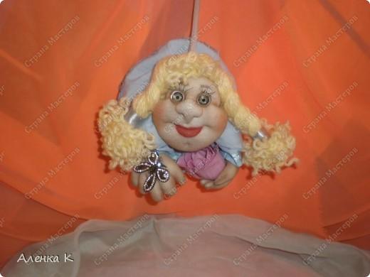 Как я люблю шить своих девочек - припевочек! При шитье таких куколок не устаю благодарить человека, по мастер-классу которого их создаю. фото 2