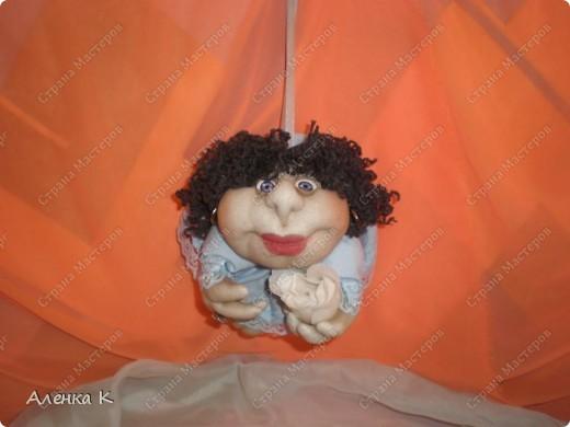 Как я люблю шить своих девочек - припевочек! При шитье таких куколок не устаю благодарить человека, по мастер-классу которого их создаю. фото 3