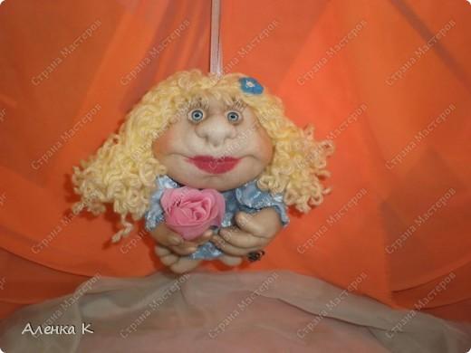 Как я люблю шить своих девочек - припевочек! При шитье таких куколок не устаю благодарить человека, по мастер-классу которого их создаю. фото 4