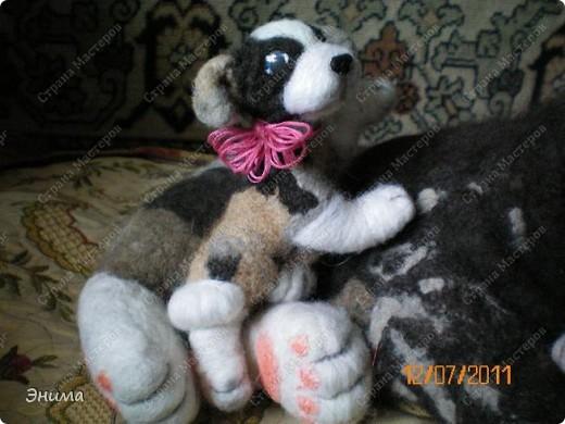 Вот таких пёсиков сваляла моя сестра. фото 11