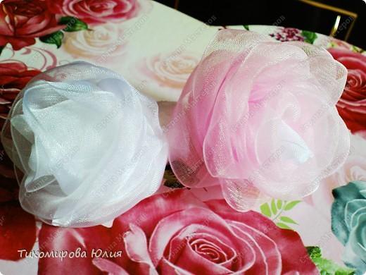 Мои любимые розы. Здесь я каждый лепесток пришивала отдельно фото 4