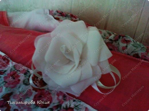 Мои любимые розы. Здесь я каждый лепесток пришивала отдельно фото 6