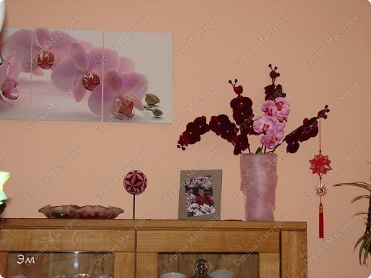 всем доброго утра,дня и ночи! я опять с кусудамами), насобиралось немного Name: Little Roses  Designer: Maria Sinayskaya Parts:30 Paper: 4*8 cm  фото 19
