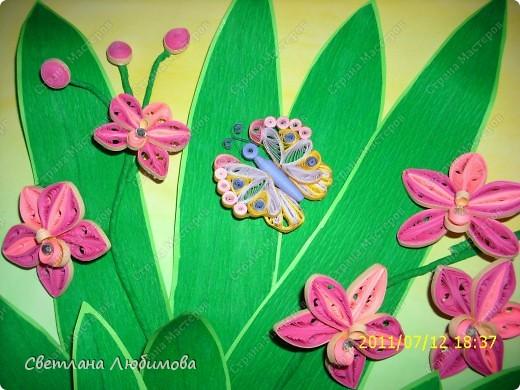 Очередная работа родилась под впечатлением картины Ольги Ольшак! Олечка спасибо за твои шедевры! На этом фото колибри можно рассмотреть получше. фото 3