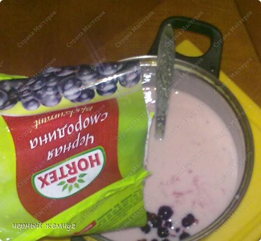 """Творожно-йогуртовый торт """"Черная смородина"""" фото 7"""