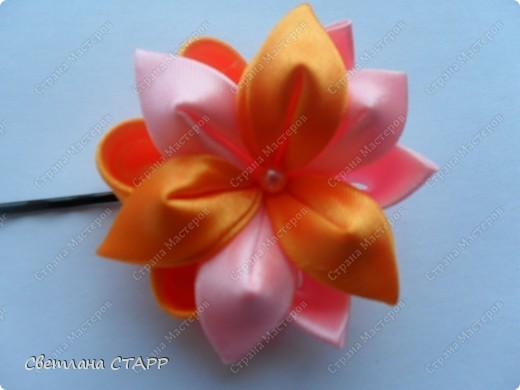 """резиночка для волос """"Летний цветок! фото 2"""
