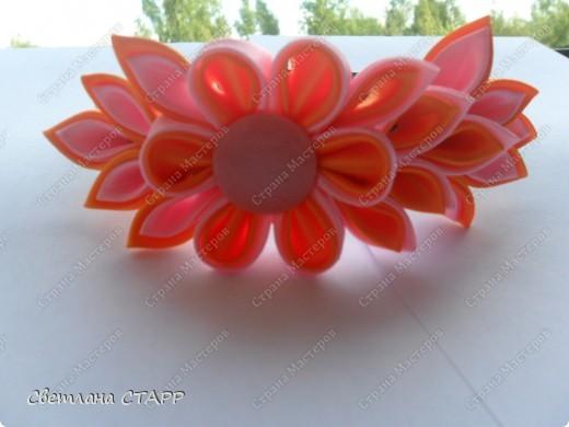 """резиночка для волос """"Летний цветок! фото 3"""
