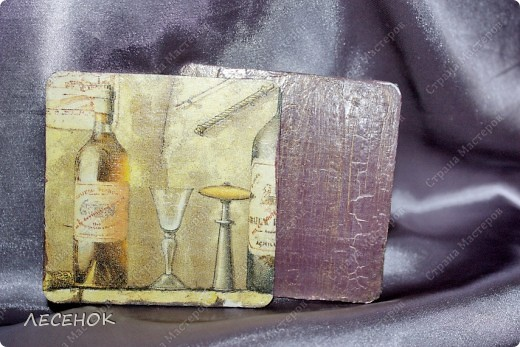 Подставки под стаканы.... фото 5