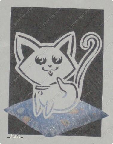 Все вместе. Котята вырезаны вручную. фото 3