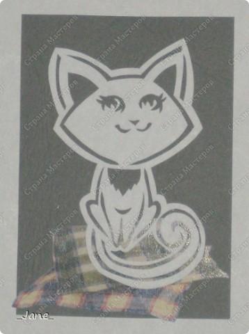 Все вместе. Котята вырезаны вручную. фото 4