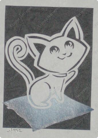 Все вместе. Котята вырезаны вручную. фото 5