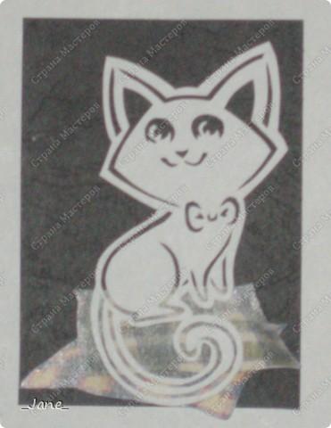 Все вместе. Котята вырезаны вручную. фото 7