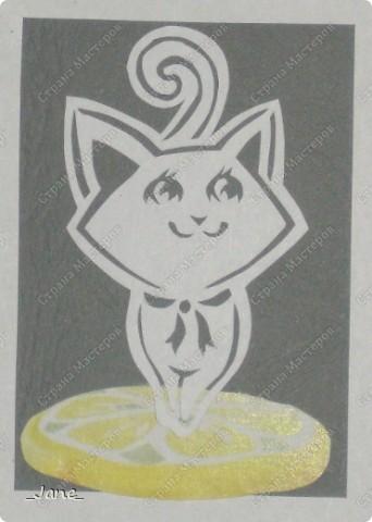 Все вместе. Котята вырезаны вручную. фото 9
