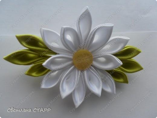 "резиночка ""Белая лилия"" фото 1"